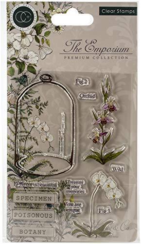 CRAFT CONSORTIUM LTD CCSTMP020 Stamps Botany, Botanik, das Emporium, Einheitsgröße