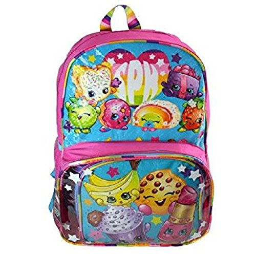 Shopkins 16' Backpack with Lunch Kit