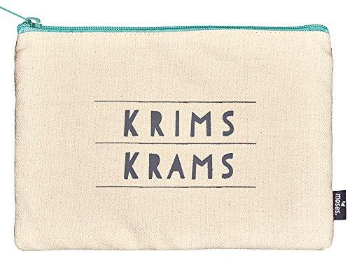 moses. Happy Me Täschchen Krimskrams Kosmetiktäschchen, 22 cm, Mehrfarbig