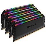 Corsair Dominator Platinum RGB 32GB DDR4 3600MHz Memory Module (32GB, 4x8GB, DDR4, 3600MHz, 288-pin DIMM)