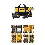 DEWALT 20V MAX Cordless Drill/Driver Kit with...