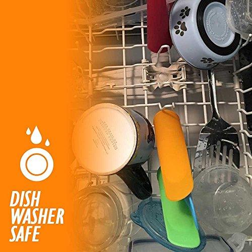 iNeibo Moldes para hielo Conjunto de 10 // colorido resistentes a las heladas y aptos para lavavajillas hechos de silicona de primera calidad