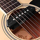 High Quality A-710 Magnetic Passive Pickup Humbucker Transducer for acoustic guitar
