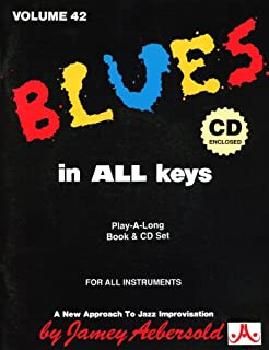 Vol. 42, Blues in All Keys (Book & CD Set)