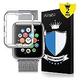 Alinsea Convient pour Apple Watch 38mm Coque/Protection écran [Lot de 2], [sans...