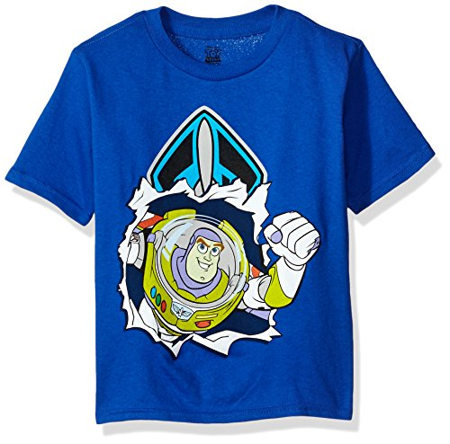 FREEZE Little Boys' Buzz Lightyear T-Shirt, Royal, 2T