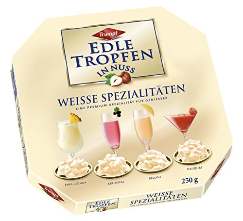 Trumpf Edle Tropfen in Nuss Weisse Spezialitten, 6er Pack (6 x 250 g)