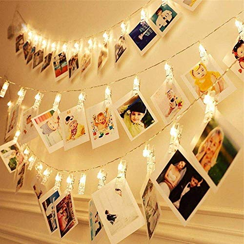 Photo Clip String with Lights