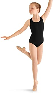 Mirella 女童花朵背舞蹈背心紧身连衣裤