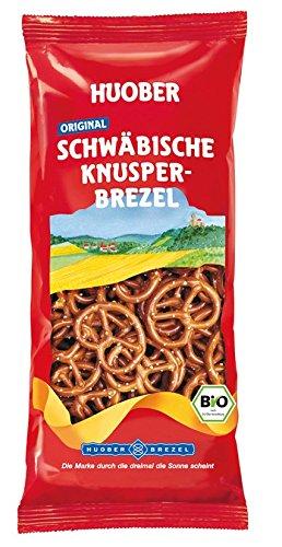 HUOBER Original Schwäbische Knusperbrezel, Bio, 20 x 175 g Packungen