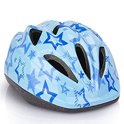 Kid Bicycle Helmets, LX LERMX Kids Bike Helmet Ages 5-14 Adjustable from Toddler to Youth Size, Durable Kids Bike Helmet with Fun Designs for Boys and Girls by Newlaunch