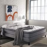 Early Bird Fusion 12-inch Hybrid Memory Foam and Spring Mattress, Cushion Firm, Bed in a Box, Cool Sleep, CertPUR-US Certified Foam, No Harmful Chemicals, Handcrafted in The USA, Queen