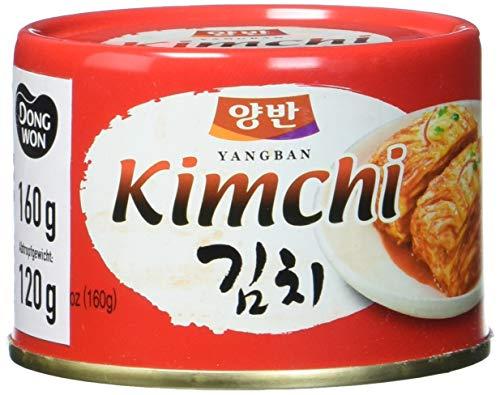 DONGWON Kimchi, koreanisch eingelegter Kohl, 160 g