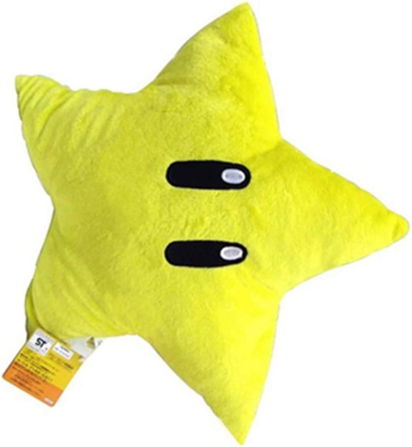 free 11'' 2020 New Super M Bros Yellow Plush Star Popular brand Doll Starman