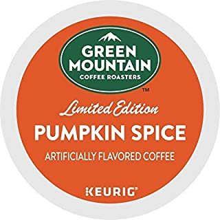 Green Mountain Pumpkin Spice Flavor Coffee, Keurig K-Cups, 48 Count