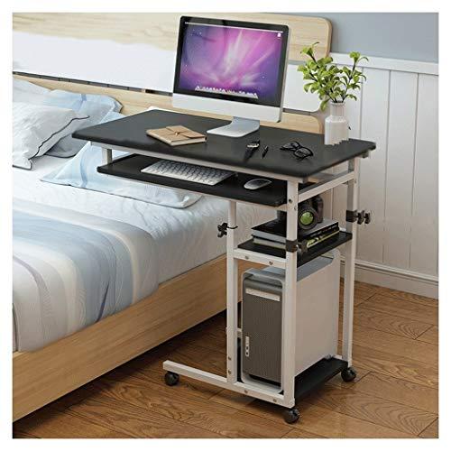 Pflegetisch Laptoptisch Höhenverstellbar Schreibtisch Mobiler Pflegetisch Für Schlafzimmer, Wohnzimmer, Sofa Multifunktional Und Praktisch Beistelltisch Notebooktisch