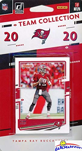 Tampa Bay Buccaneers 2020 Donruss NFL Football Limited Edition 12 Card Complete Factory Sealed Team Set with TOM BRADY, Rob Gronkowski, Mike Evans, Tyler Johnson RC & More Stars & Rookies! WOWZZER!