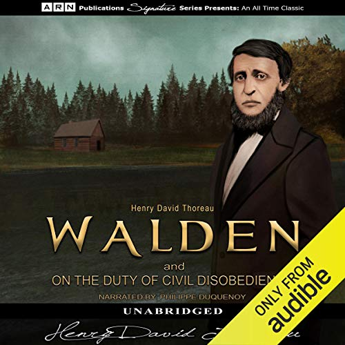 Couverture de Walden and On the Duty of Civil Disobedience