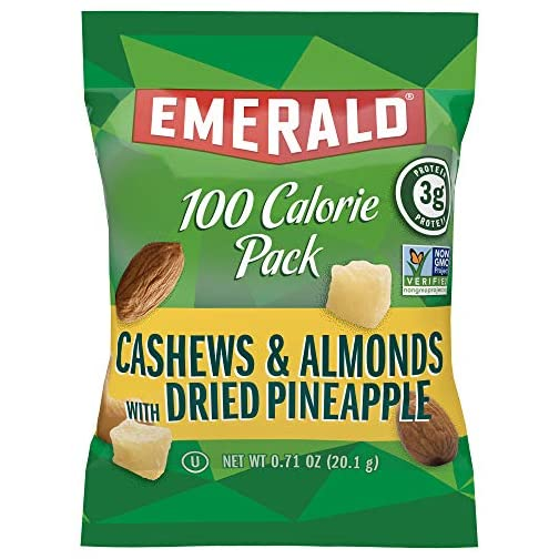 Emerald Nuts, Dry Roasted Almonds 100 Calorie Packs, 0.63 Ounce (Pack of 84) 4