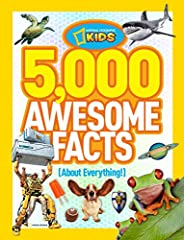 Expand your knowledge of everything! Encourage reading and thinking Features 5,000 random, but true, facts Durable hardcover design Intriguing and readable format