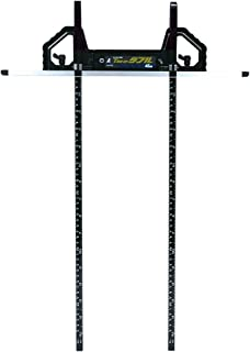 シンワ測定(Shinwa Sokutei) 丸ノコガイド定規 Tスライドダブル 併用目盛 突き当て可動式 45cm 73703