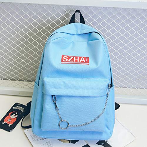 Student Tasche Rucksack Weibliche Koreanische Version Des College Oxford Rucksack Männer Casual Outdoor Reisetasche Flut 2 31 * 42 * 17Cm