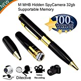 M MHB Spy Pen Camera, Portable Video & Photo Camcorder Series 4, Support
