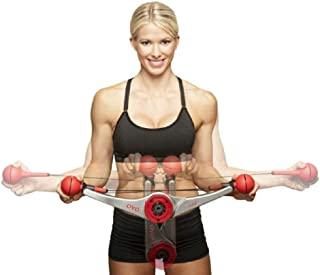 MiMi Gym - Full Body Portable Gym Equipment Set for Exercise at Home, Office or Travel - Strength Training Fitness Technology (White)