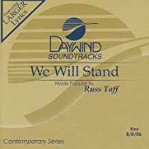 We Will Stand Accompaniment/Performance Track