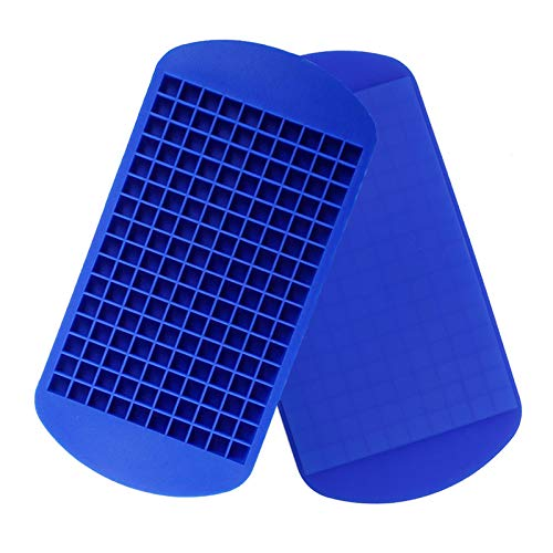 Silicone Mini Ice Cube Trays 2 Pack