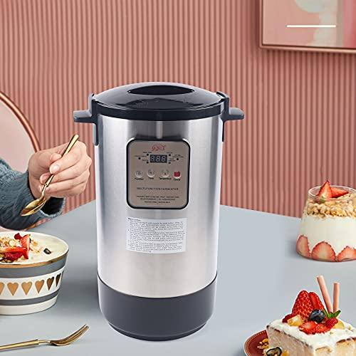 CNCEST 12L Automatic Yogurt Maker, Electronic Fermenter for Natto,Kimichi,Wine,Enzyme,Black Garlic Multi Function Fermenter, Stainless Steel Inner Pot