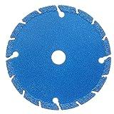 PRODIAMANT - Disco da taglio diamantato professionale, universale, in titanio, 75 mm x 10 mm