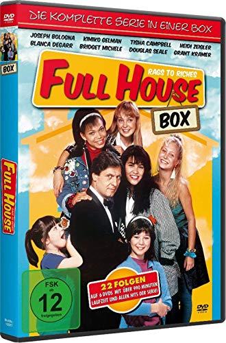 FULL HOUSE BOX - Rags to Riches - Die KOMPLETTE Serie [6 DVDs - 22 Folgen]
