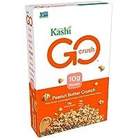 Kashi GO Peanut Butter Crunch Cereal Vegan, 13.2 Ounce