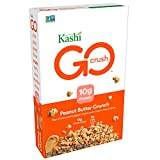 Kashi GO Peanut Butter Crunch Cereal - Vegan | Non-GMO | 13.2 Ounce (Pack of 1)