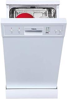 Teka LP8 400 Independiente, A+ lavavajilla - Lavavajillas (Independiente, Blanco, Slimline (45 cm), Blanco, Botones, 9 cubiertos)