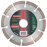 Metabo 624307000 624307000-Disco de Diamante SP para Uso General 125 x 22,23 mm Altura segmento 7 mm, 125x22.23mm