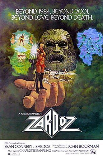 Amazon.com: Zardoz - 1974 - Movie Poster: Posters & Prints