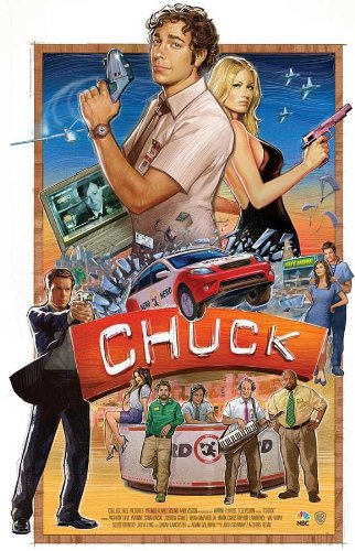 Chuck (TV) 11 x 17 TV Poster - Style F