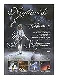Nightwish Signiert Autogramme 21cm x 29.7cm Plakat Foto