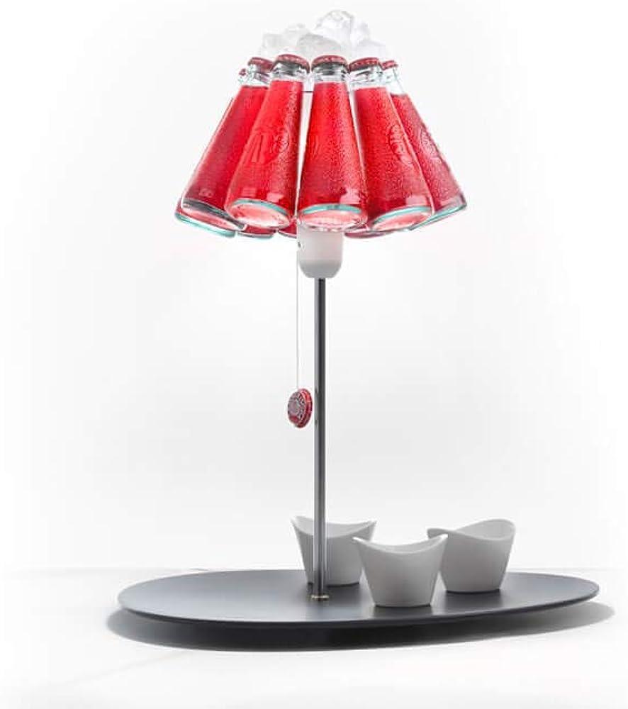 Ingo maurer campari bar, lampada da tavolo 1365000