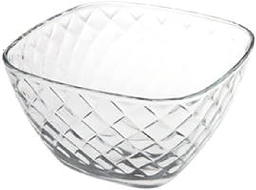 Glass Salad Bowl Bowls Thickened Mixing Time sale sold out Stacka