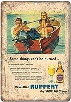 Ruppert Slow Aged Beer Bar ティンサイン ポスター ン サイン プレート ブリキ看板 ホーム バーために