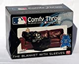 Northwest Milwaukee MLB Baseball Brewers Adult Comfy Throw - The Blanket with Sleeves