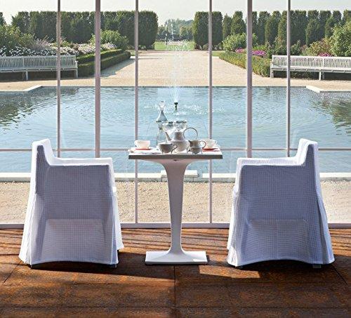 driade - Toy Husse - sanforisierte Baumwolle - weiß - Philippe Starck - Design - Gartenstuhl - Küchenstuhl - Speisezimmerstuhl - Terrassenstuhl