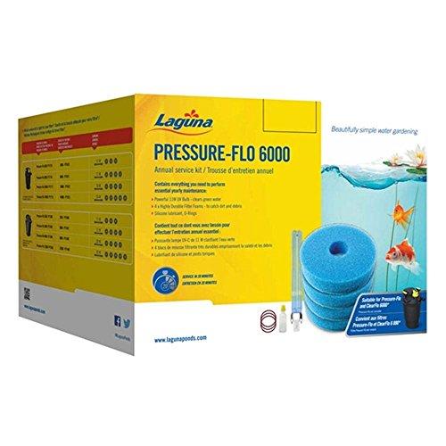 Laguna set voor siervijver, schuimstof/UV-lampen/accessoires voor zwembaden, FLO 6000, blauw