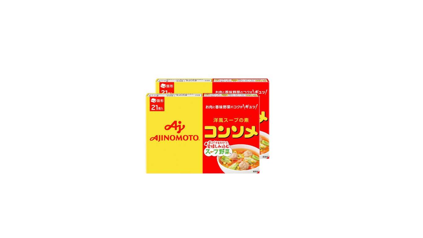 Ajinomoto consomme solid 21 pieces X2 pieces [Parallel import]