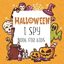 Halloween I Spy Book: Let's Play! A Guessing and Learning Halloween Vocab Games for Kids Age 2-5 Years