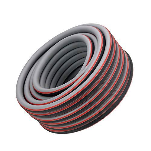 LYY Frostschutzgarten Hochdruck-Gummischlauch, Blei und BPA frei, Verstärkung für maximale Kink Resistenz 1/2
