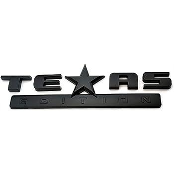 Luxury FX Texas Emblem Decal Set 2pc
